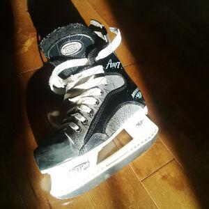 Patins hockey Mission Amp 7 (enfant)