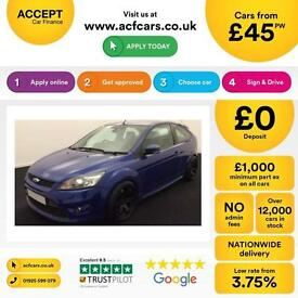 Ford Focus 2.5 ST-2 225 ST2 FROM £45 PER WEEK.