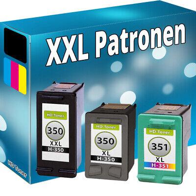 Kompatibel Photo Color Tinte (DRUCKER PATRONEN für HP 350+351 XL C4580 C4480 C5280 D5360 C4280 D4260 D4360 Set)