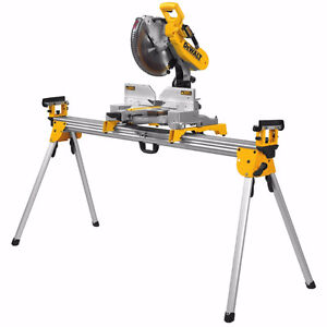 dewalt dw716 and dwx723 15 amp 12 inch mitre saw and deluxe stan