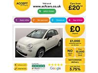 Fiat 500 1.2 ( s/s ) POP FROM £20 PER WEEK!