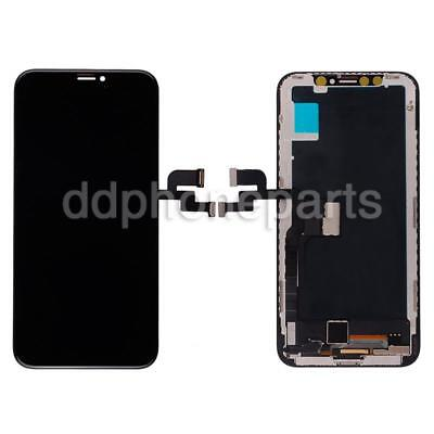Black LCD Screen Touch Digitizer + Bezel Frame For Apple iPhone X