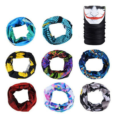 Multi Function Neck - RockBros Multi-function Cycling Scarf Headwear Neck Sporting Headband Cap