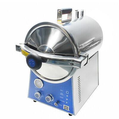 Desktop High Pressure 24l Dental Steam Autoclave Sterilizer Stainless Steel