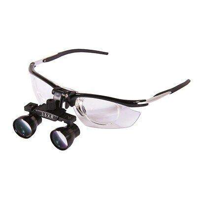 New 3.5x Dental Medical Binocular Loupes Magnifier Antifogging Aluminum Frame