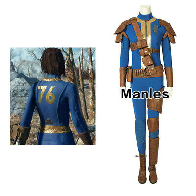 Game 76 Costume Cosplay Female Halloween Outfits Women Props Full Set Jumpsuit (Female Halloween Outfits)