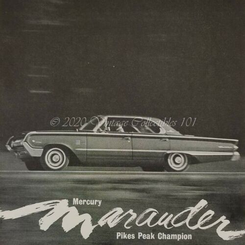 1964 Mercury Marauder Parnelli Jones Pike