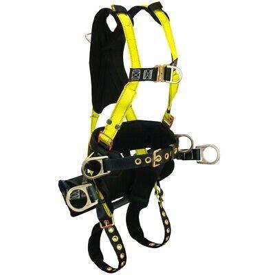 Falltech Journeyman Tower Climber Body Harness Medium Belt Size 33 To 41