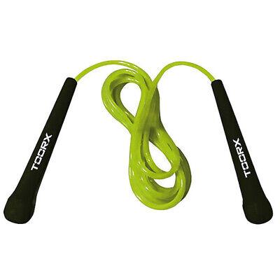 TOORX Corda Salto Veloce in PVC Allenamento Saltare Fit Boxe Pugilato Jump Rope
