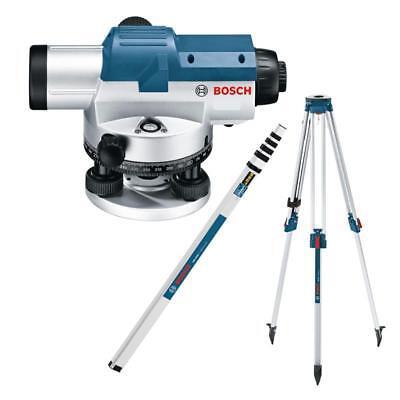 Bosch GOL 26 G Optisches Nivelliergerät + BT 160 + GR 500 im Set
