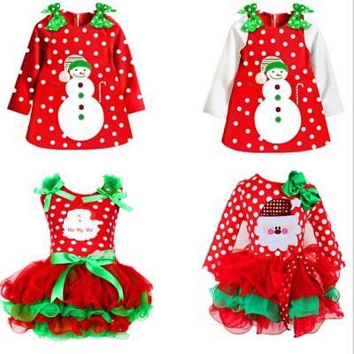 Christmas Dress For Girl Children New Year Festival Santa Costume Party - Santa Dresses For Girls