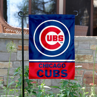 - Chicago Cubs Garden Flag and Yard Banner