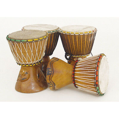 """1 genuine african d'jembe drum: x small 6-8"""", delivery in about 8 days for sale  Shipping to Nigeria"""