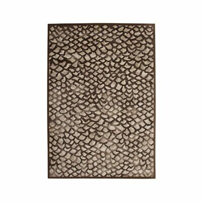Abacasa Sonoma Corliss Chocolate-Grey 8x11 Area Rug