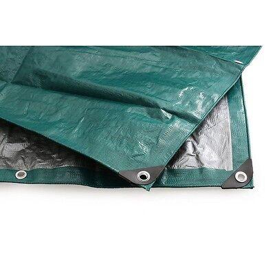 King Canopy GSHD20X30 Green / Silver Tarp - 20' x 30' NEW
