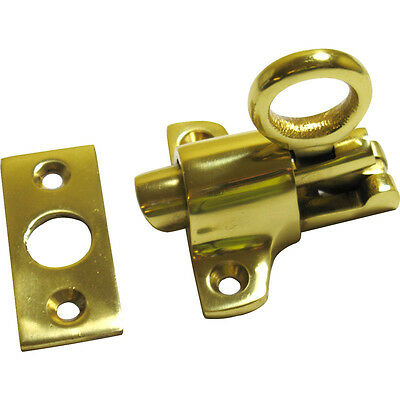 Ring Fanlight Latch Brass Chrome Satin Catch Sash Window Loft Attic Hatch Sprung