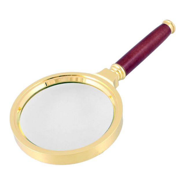 New 90mm Handheld 10X Magnifier Magnifying Glass Loupe Reading Jewelry Tools