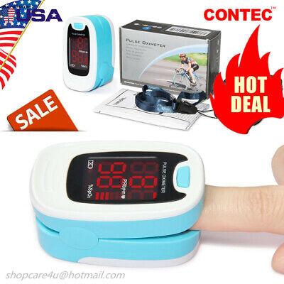 Pulse Oximeter Finger Spo2 Blood Oxygen Saturation Pulse Heart Rate Monitor Fda
