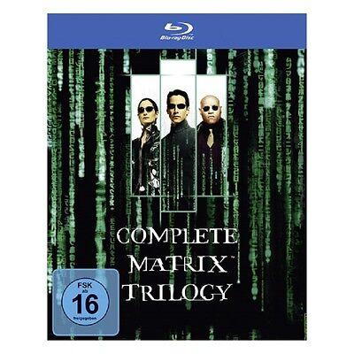 Blu-ray Box * Matrix - The Complete Trilogy * NEU OVP * (Teil 1+2+3, Trilogie)