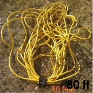 Yellow 80 foot HD Extension Cord - Exterior