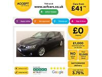 Lexus CT 200h 1.8 CVT 2012MY SE-L FROM £41 PER WEEK!