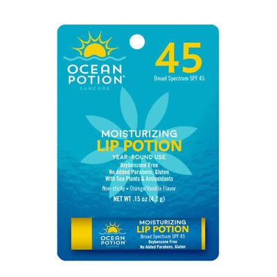 Ocean Potion Moisturizing Lip Potion SPF 45 0.15 oz - Ocean Potion Moisturizing Lip Potion Spf 45
