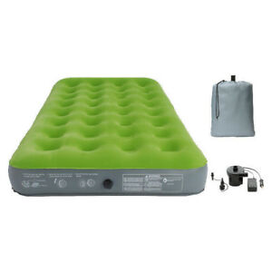 Embark™Single High Twin Air Mattress with Pump - New in box