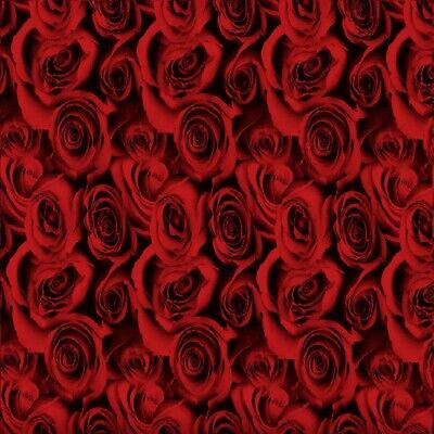Red Rose Camo Luv Water Transfer Dipping Hydrographic Hydro Film 0.5x2m