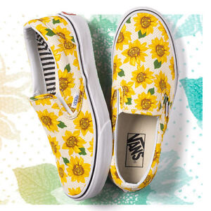 VANS SUNFLOWERS brand new size 8.5