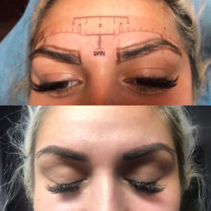 GTA - Eyebrow Microblading $300 with FREE touch-up !