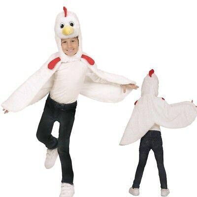 Hühnchen Huhn Cape Überwurf Kleinkinder Plüsch Kostüm - Kinder 2-4 J.Tierkostüm