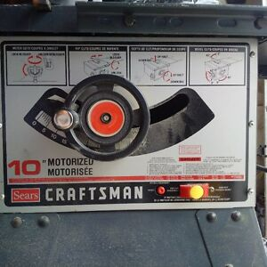 "10"" Table Saw $50 OBO"