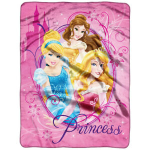 Disney Princess Micro Throw, New