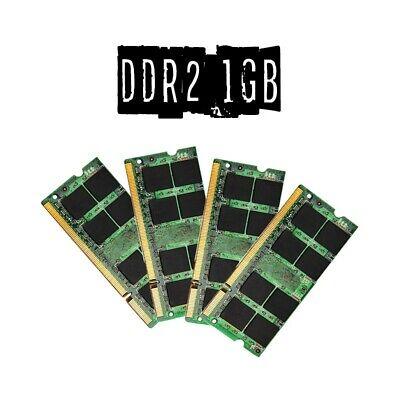 4GB (4x 1GB) MEMORIA RAM DDR2 1GB SODIMM COMPUTER PORTATILE PC LAPTOP INTEL AMD.