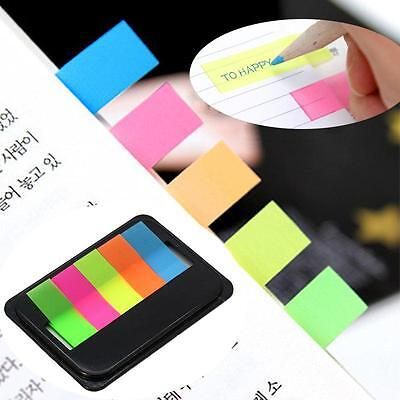 Fluorescen Sticker Post It Bookmark Point Marker Memo Flag Sticky Notes on Rummage