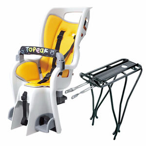Topeak bicycle baby seat with rack