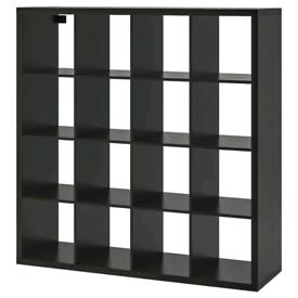 Ikea Kallax storage units and Malm chest of drawers