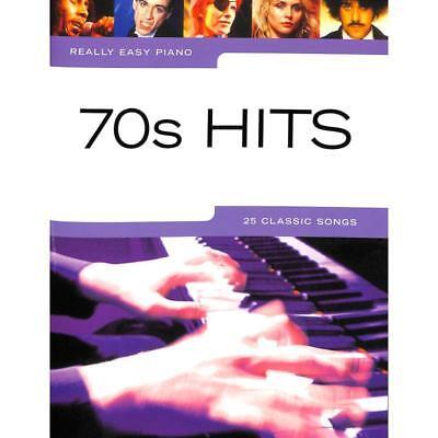 Klavier Noten - 70s HITS - 25 CLASSIC SONGS  - REALLY EASY PIANO -