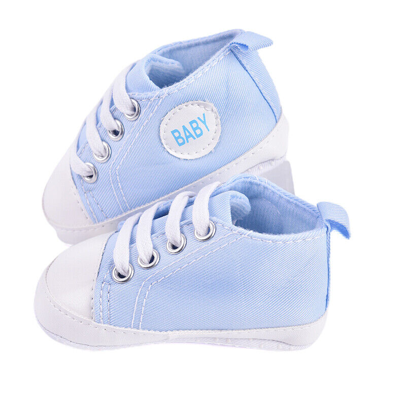 Toddler Boy 20 Sole Crib Shoes Infant Sneakers_