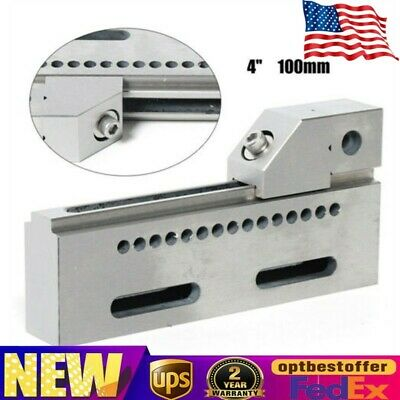Wire Edm Jaw High Precision Vise Stainless Steel Hardened Fixture 4 Jig