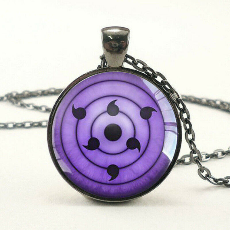 Cosplay Rinnegan Sasuke Uchiha Eya Pendant Naruto Animation Eye Necklace