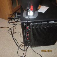 Bass Amplifier and 4 Speaker