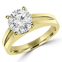 Bague de fiançailles 0.80CT 14k Gold Diamond Engagement Ring