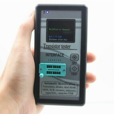 Transistor Tester Resistance Meter Inductor Capacitor Esr M328 Color Screen 9v