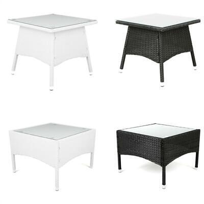 Gartentisch Polyrattan Tisch Beistelltisch Rattan Teetisch  Estexo® Balkontisch