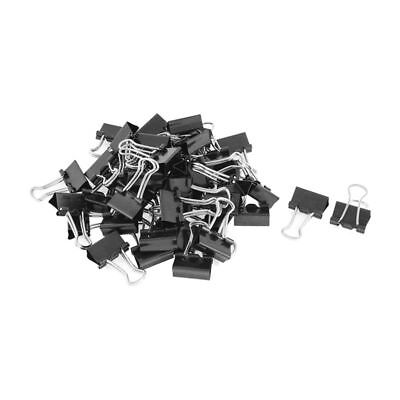 Metal Spring Binders Clip For Paper Document Office Stationery Paper Clips 15mm