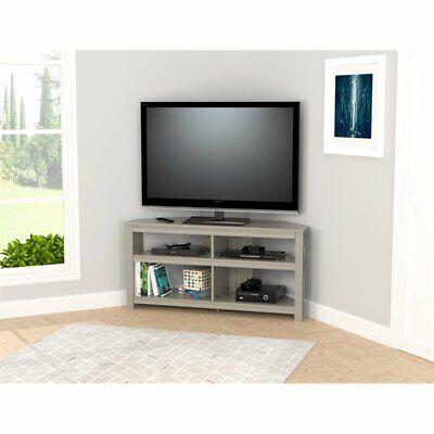 Inval Smoke Oak Corner TV Stand