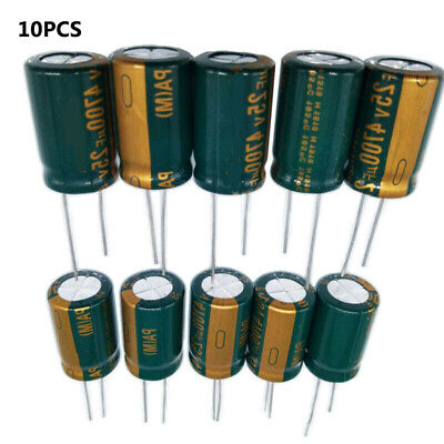 Panasonic FC 820uF 10V 105C Electrolytic Capacitors Lots of 2 to 50