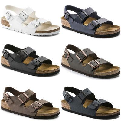 Birkenstock Milano Birko-flor Strap Sandals Mens Womens Unisex Fashion Shoes