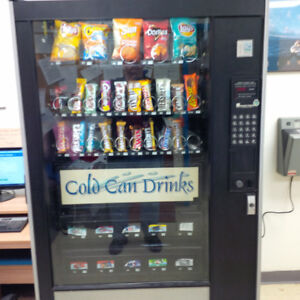 Cold Drinks, Snacks Vending Route For Sale